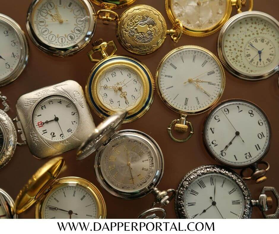 Types of Pocket Watches