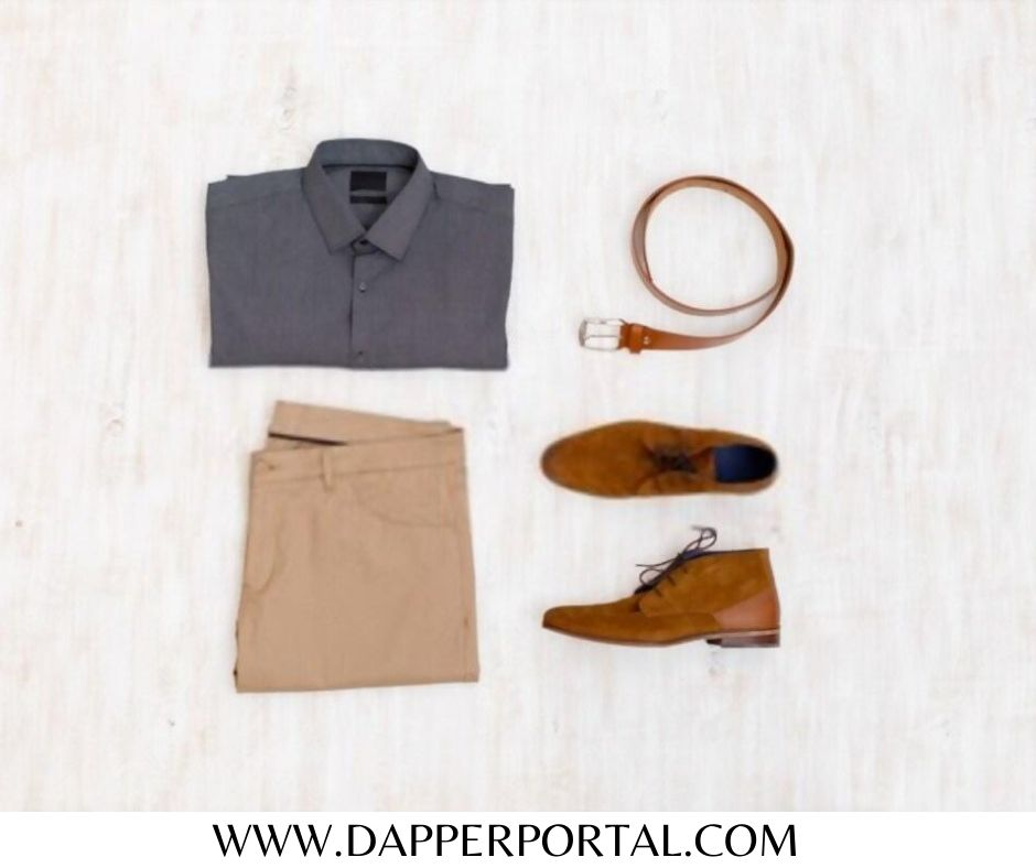 what to wear with brown casual shoes