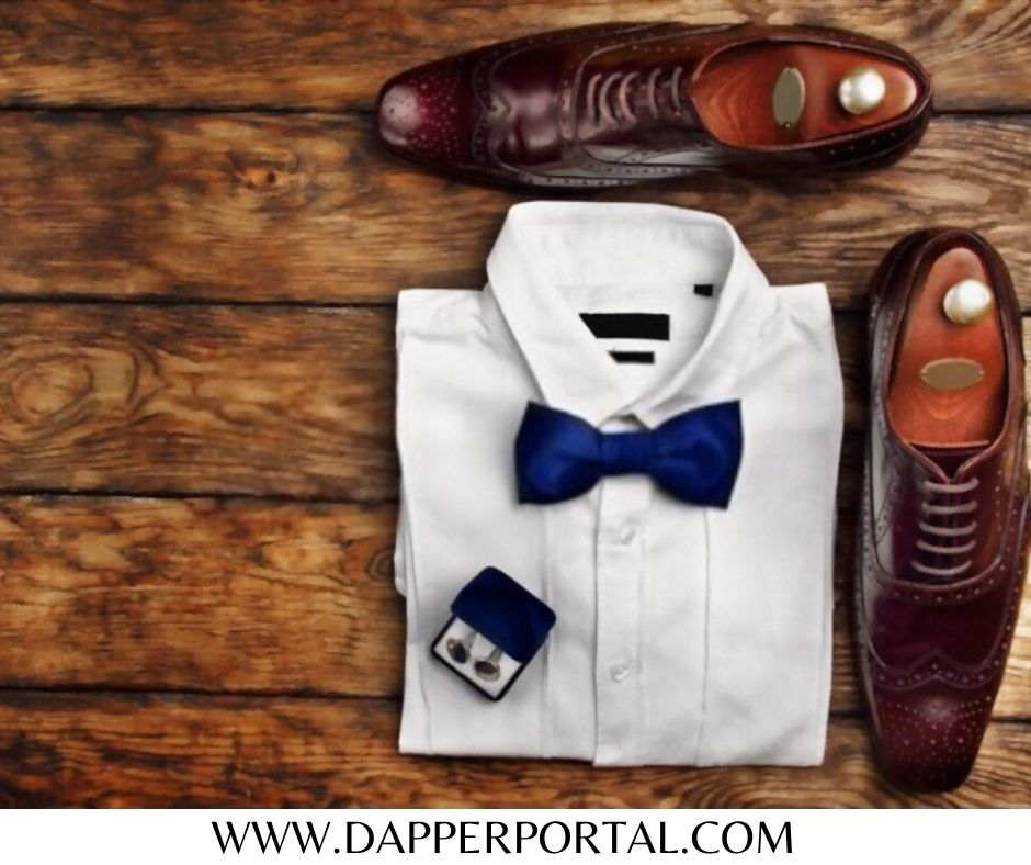 what color shirt goes with beige pants and brown shoe