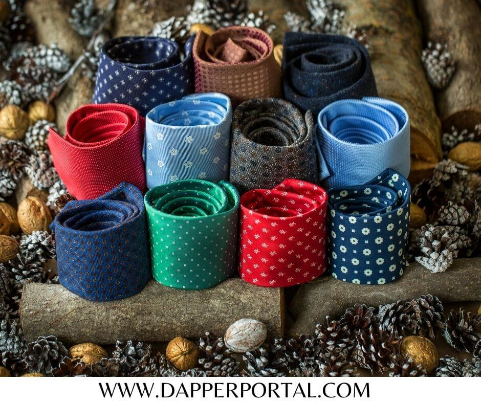 how to pack mens ties for travel