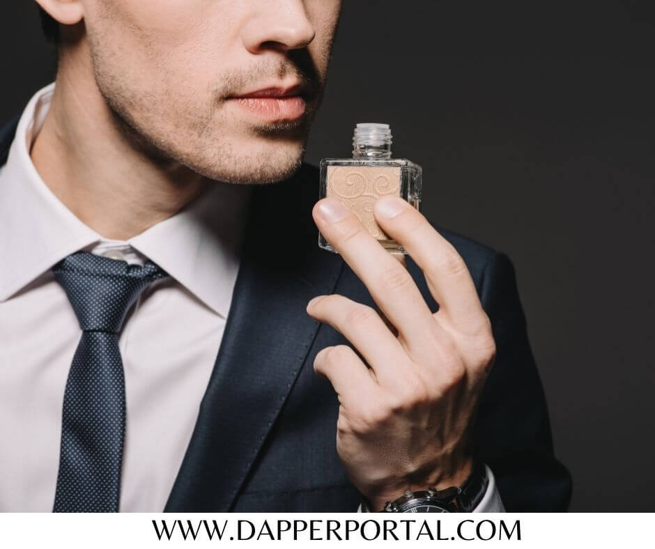 why do guys wear cologne to work