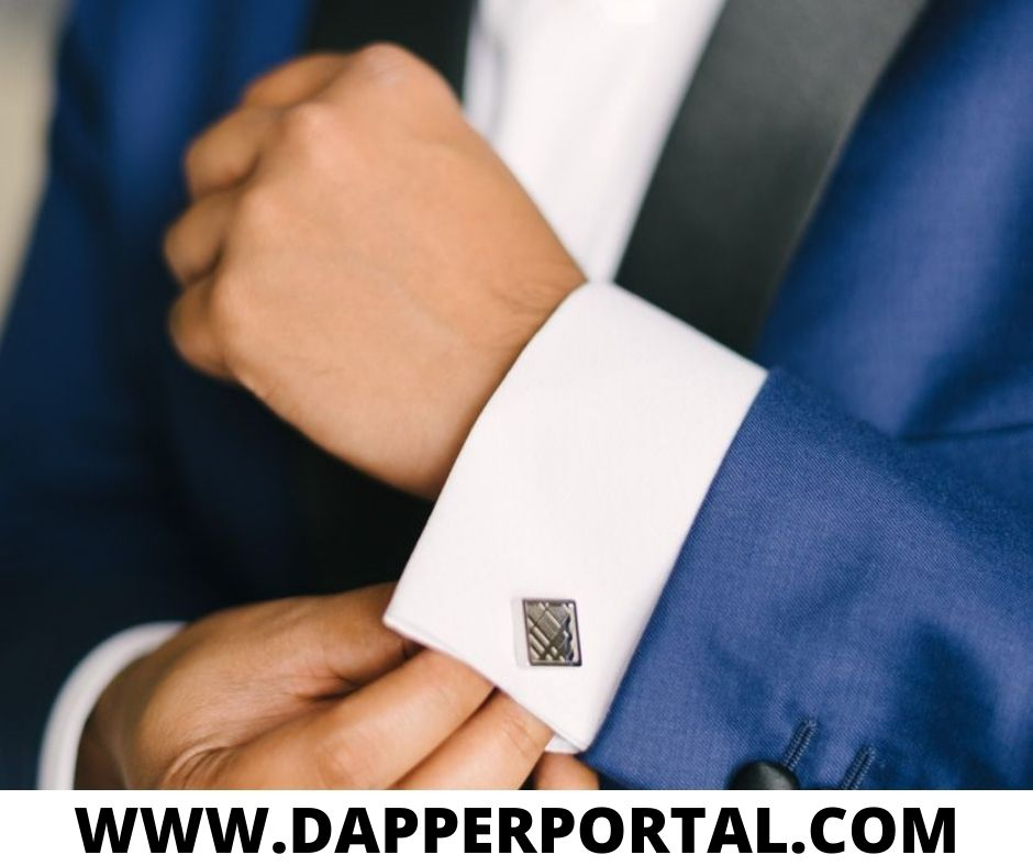 how to wear cufflinks without french cuffs