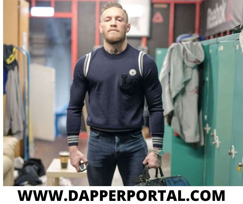 how to dress like conor mcgregor