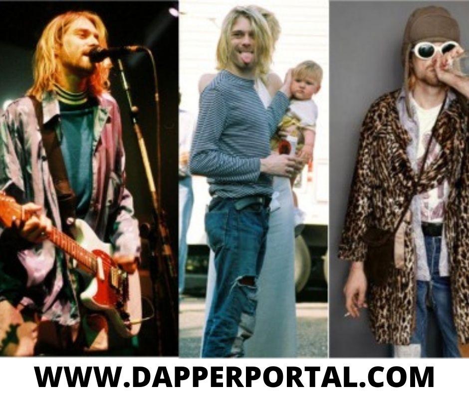 kurt cobain outfit ideas